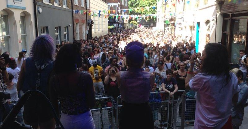 Lyrically Challenged @ London Pride